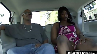 Black babe Royalty gtes juciy pussy battered with BBC