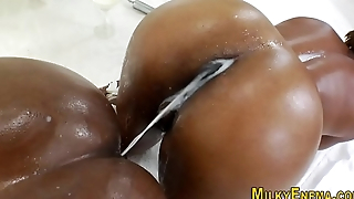Big ebony asses squirt