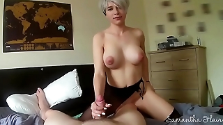 Bootylicious babe SAMANTHA FLAIR FULL NUDE