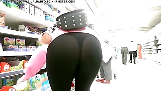 milf black thong see thru