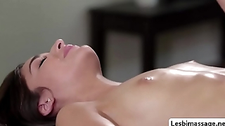 Emilys pussy licking with her new stepmom